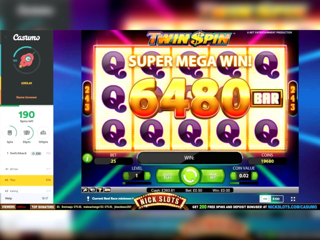 290% First Deposit Bonus at Wild Blaster Casino