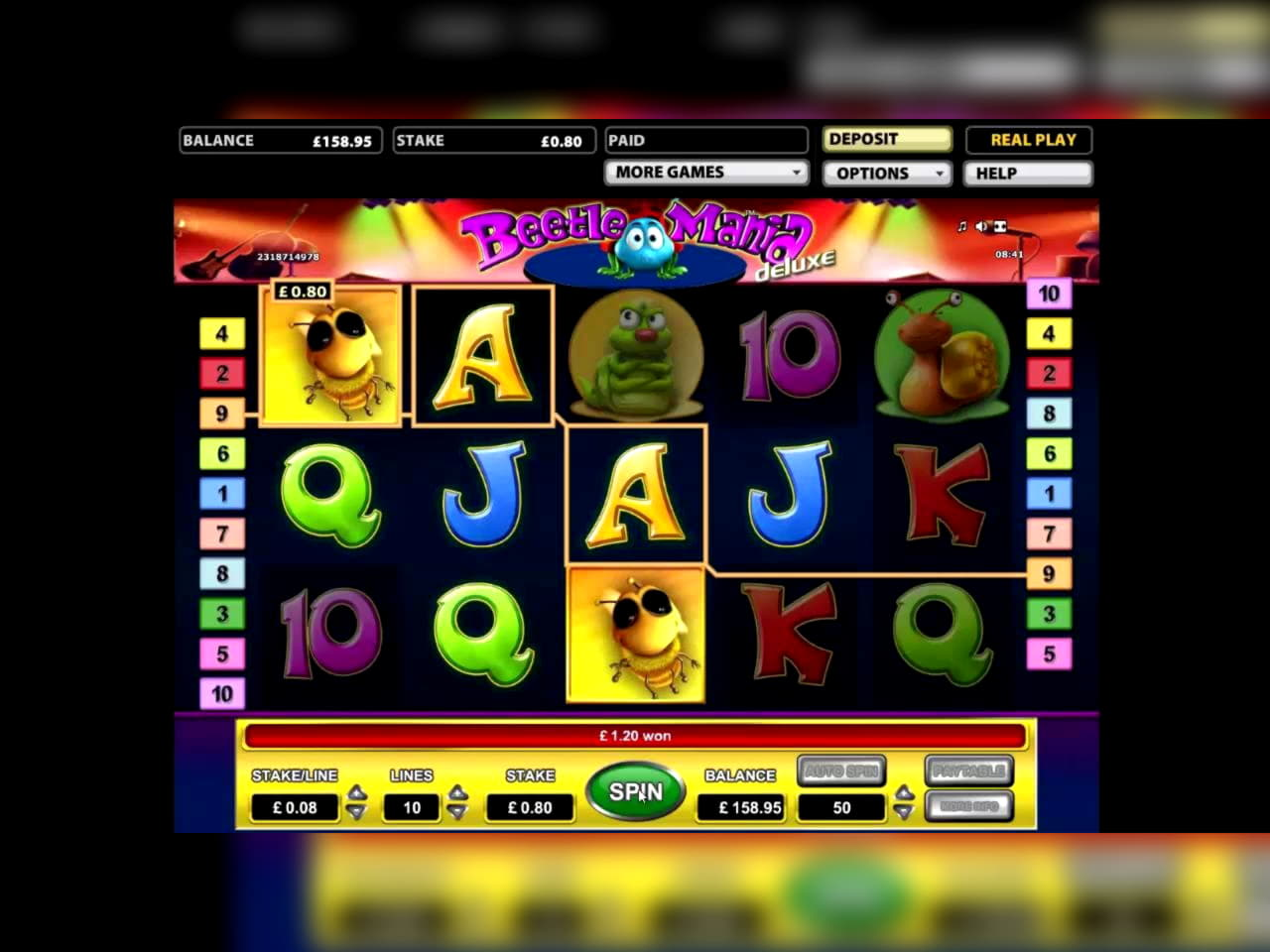 15 Free casino spins at King Billy Casino